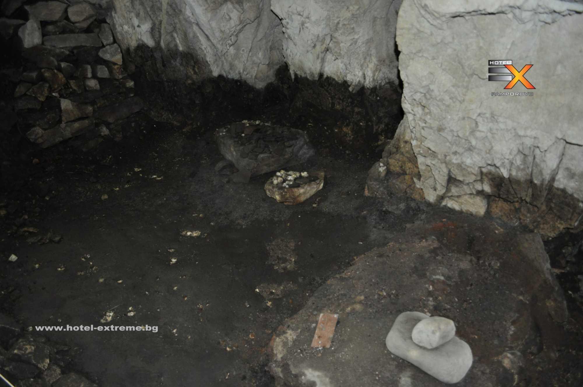 Пещерно жилище в Ягодинската пещера