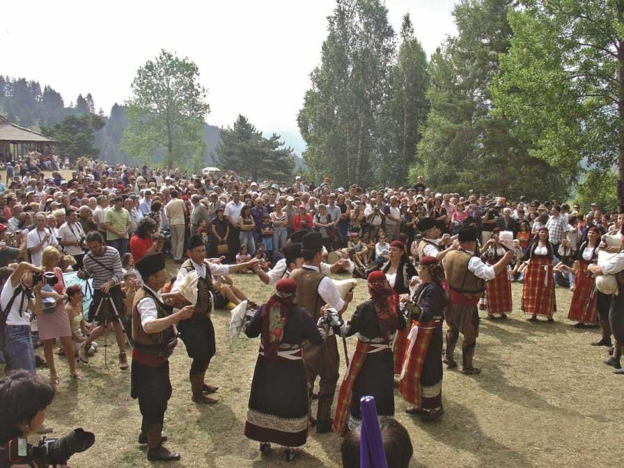 Илинденски събор в село Гела