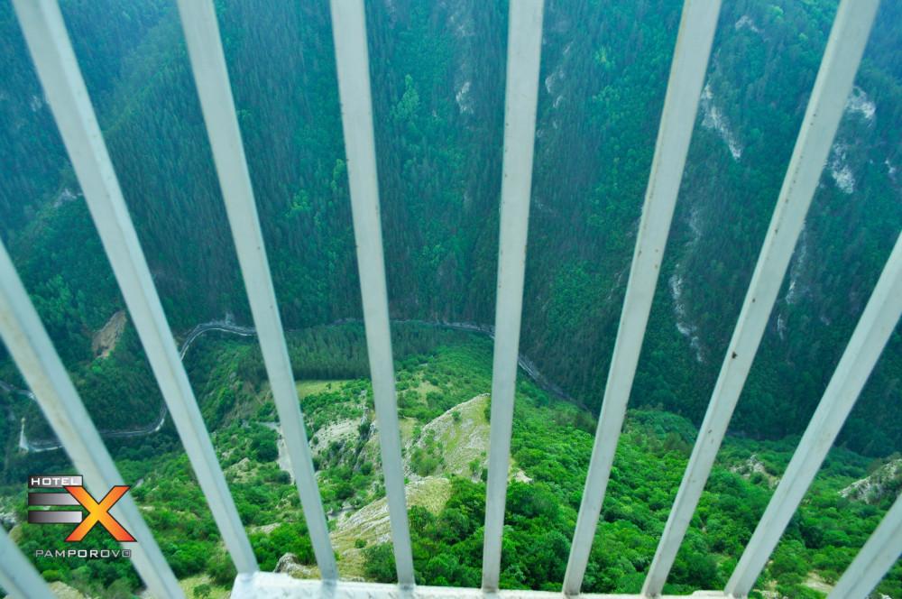 Гледката от Панорамната площадка