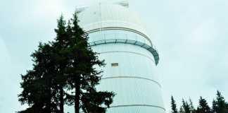 Големия телескоп НАО Рожен