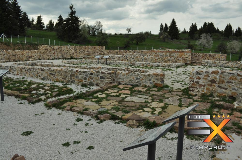 базиликата в село Гела